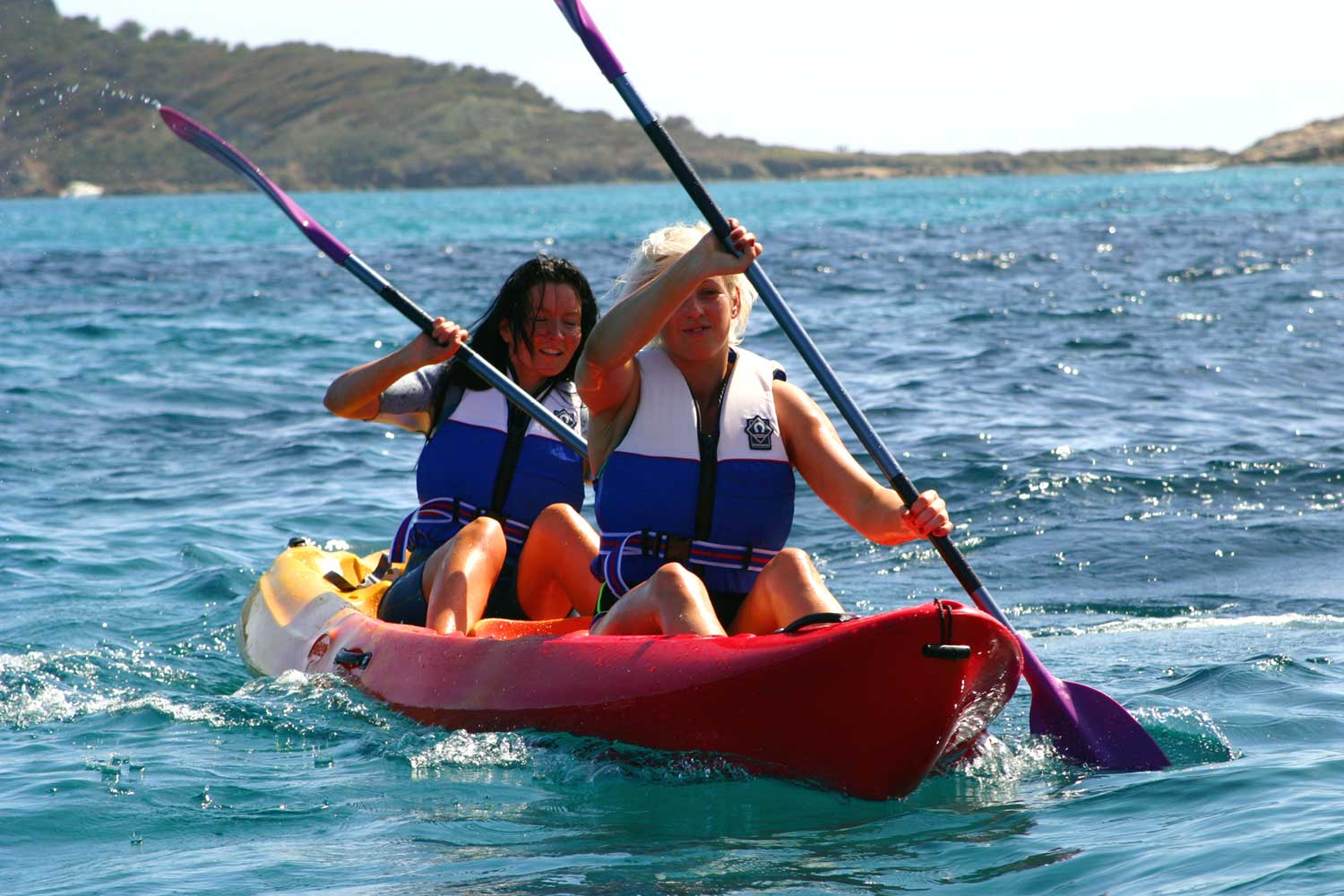 active sports on holidays